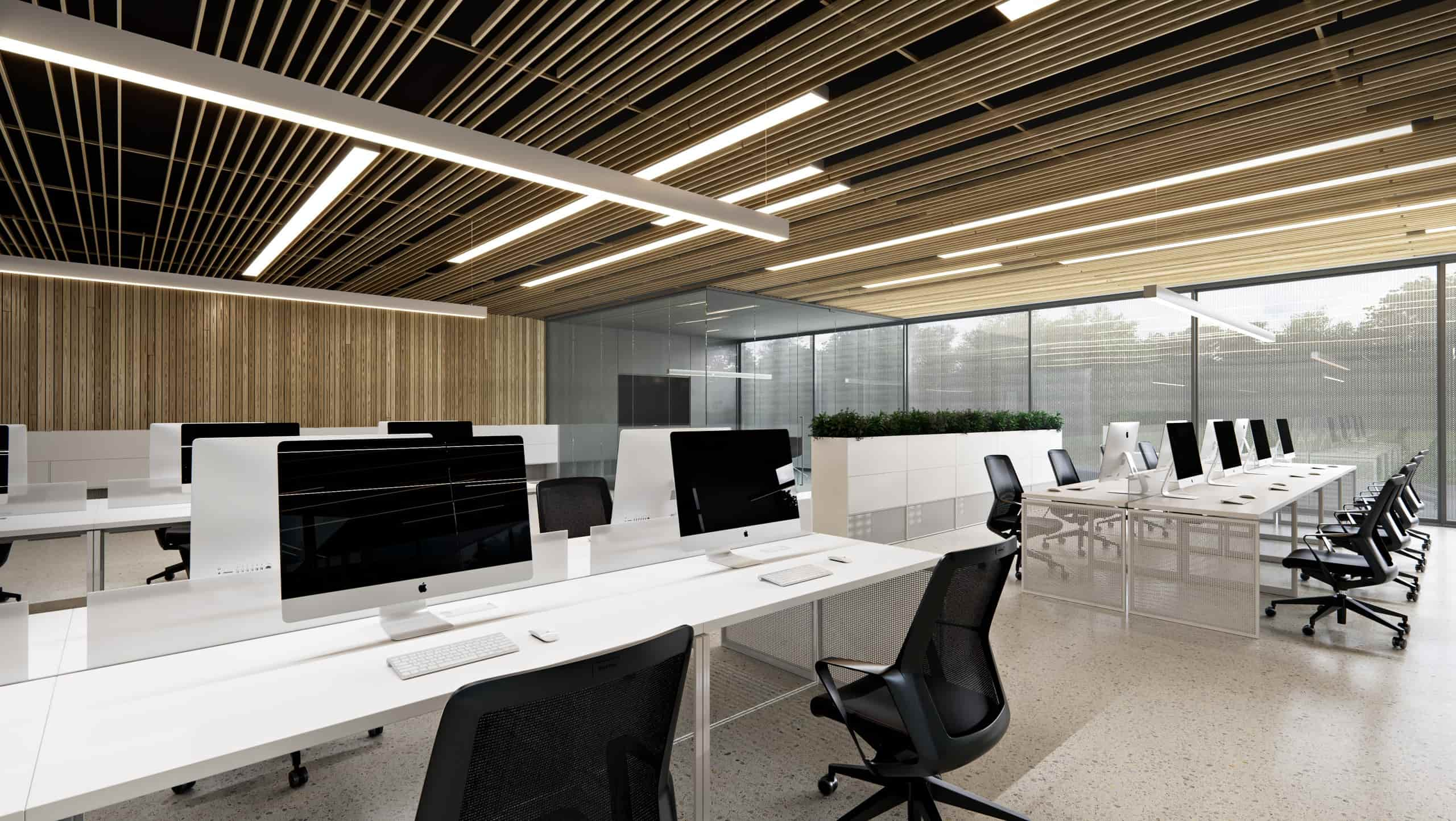 IT office building workplace interior design